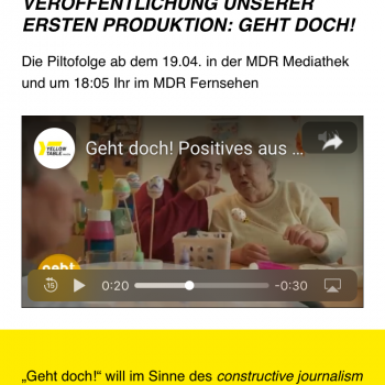 Erste Produktion Yellowtable Media